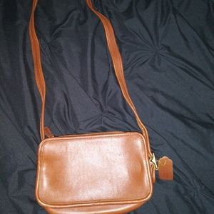 Coach vintage leather crossbody